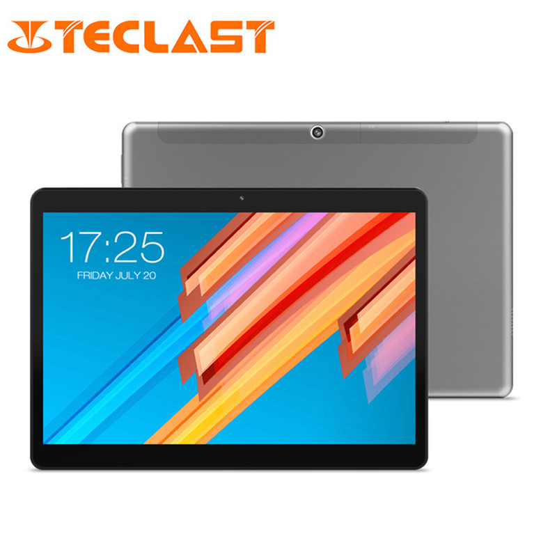 10,1 pulgadas 2560*1600 Tablet PC Teclast M20 MT6797 X23 Deca Core Android 8,0 4 GB RAM 64 GB ROM Dual 4G tabletas de teléfono Wifi Dual