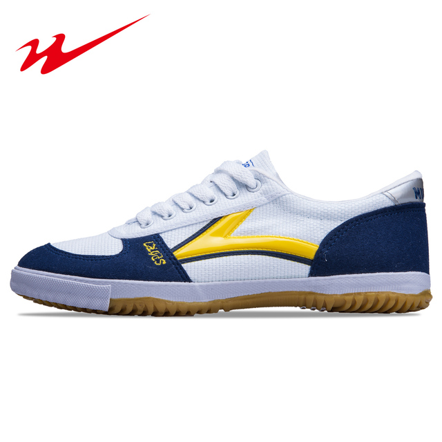 7e8cc0170 Sapatos de ténis de mesa Antiderrapante Homens Mulheres Sapatos de Tênis de  Mesa Masculino Sapatos Homem Pingyu Portas Clássico Artes Marciais