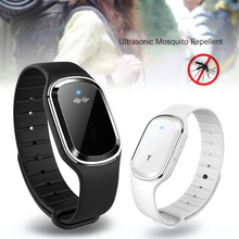 Ultrasound Mosquito Repellent Electronic Hand Ring Outdoor Portable Watch USB Charging