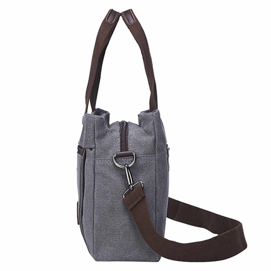 Womens Adam Çanta Eğlence Düz Renk Omuz Messenger Öğrenci Okul Seyahat kadın çantası bolso hombre çanta kadınlar erkekler için 2019