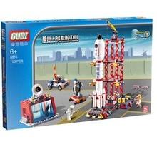 GUDI 8816 Star Wars Space War The Shenzhou 10 Launch Center Minifigure Building Block 753Pcs Bricks Toys Best Toys
