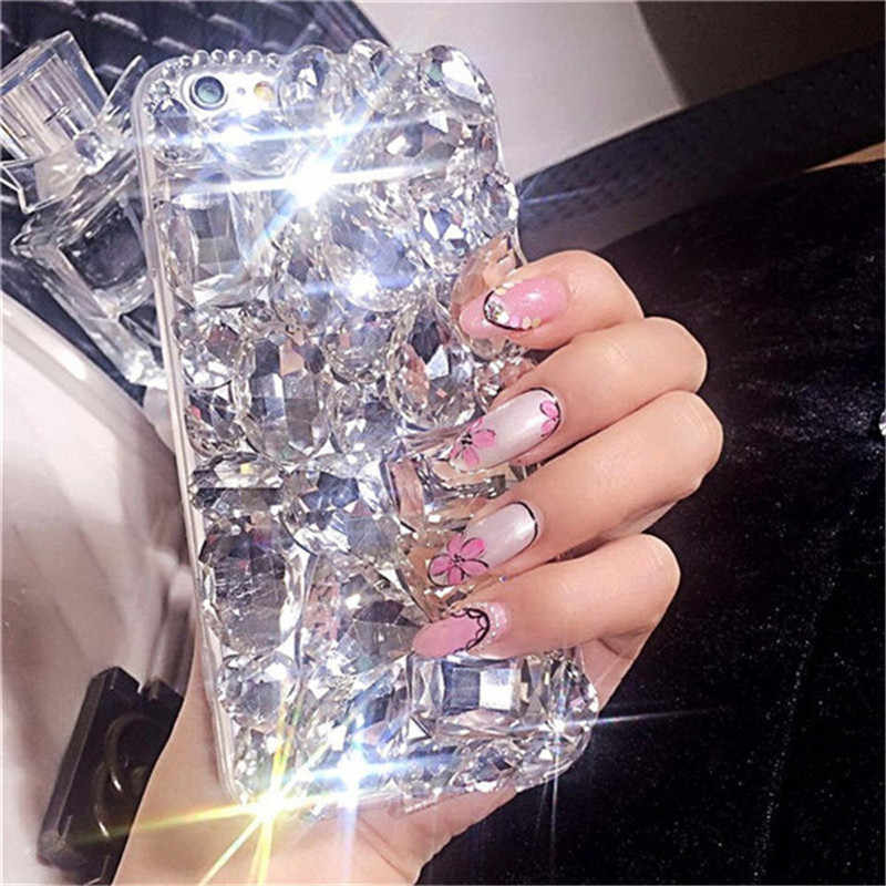 1 шт. мода супер люкс Кристалл Rhinestone Bling диаманта чехол для телефона для OPPO A57 A37 A1 A3 A5 F1s F1 плюс f3 F5 F7 F9 крышка