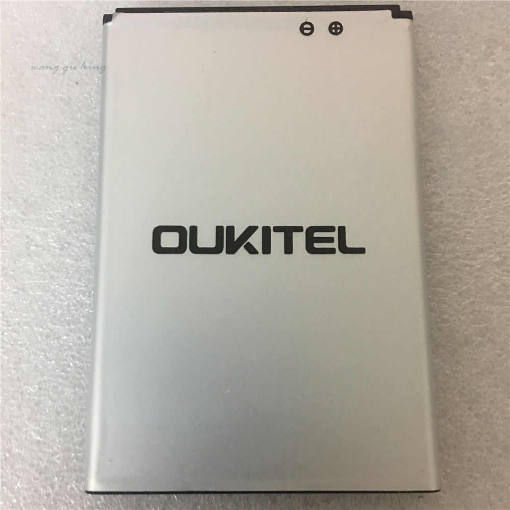 100% Asli 5.5 Inci Oukitel C8 Baterai Nyata 3000MAh Baterai Cadangan Pengganti untuk Oukitel C8 Ponsel
