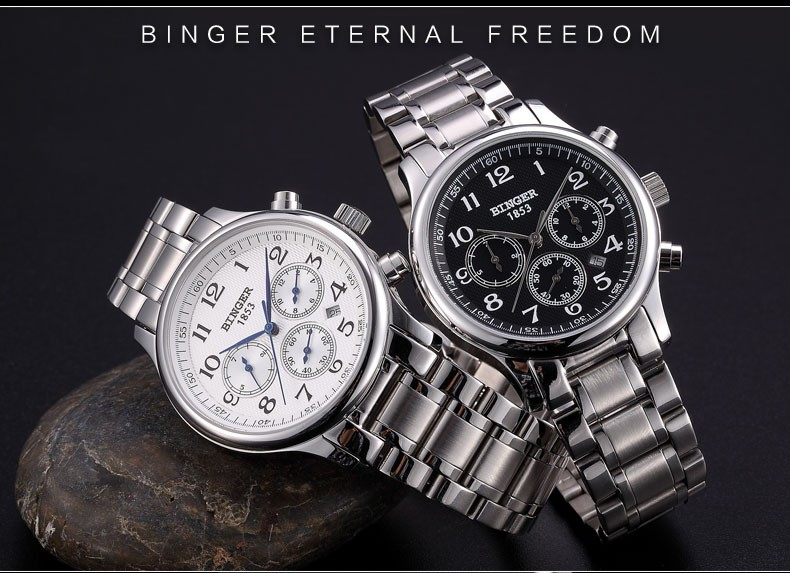 mecânico automático sapphire relógios dos esportes da