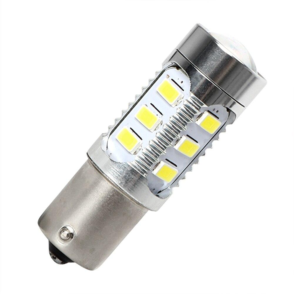 ITimo Turn Signal Light Headlight Lens Fog Lights External Lights 1156 5730 13SMD Car LED Bulb Brake Lamp White Car-styling