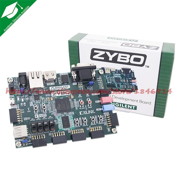 US $400 0 |Zybo Zynq 7000 ARM/Xilinx FPGA Development board learning board  XUP Digilent-in Electronics Stocks from Electronic Components & Supplies on