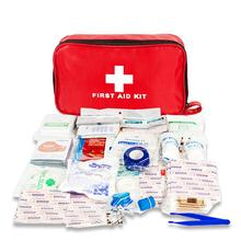 184pcs Emergency Survival Bag Mini First Aid Kit For Family Travel Kits Home Medical Outdoor Car