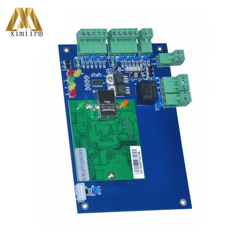 Free Shipping TCP/IP One Door Access Control Board Access Control Panel Smart Card Door Access Control System L01 linux system tcp ip smart card access control system door access controller access control panel with time attendance function