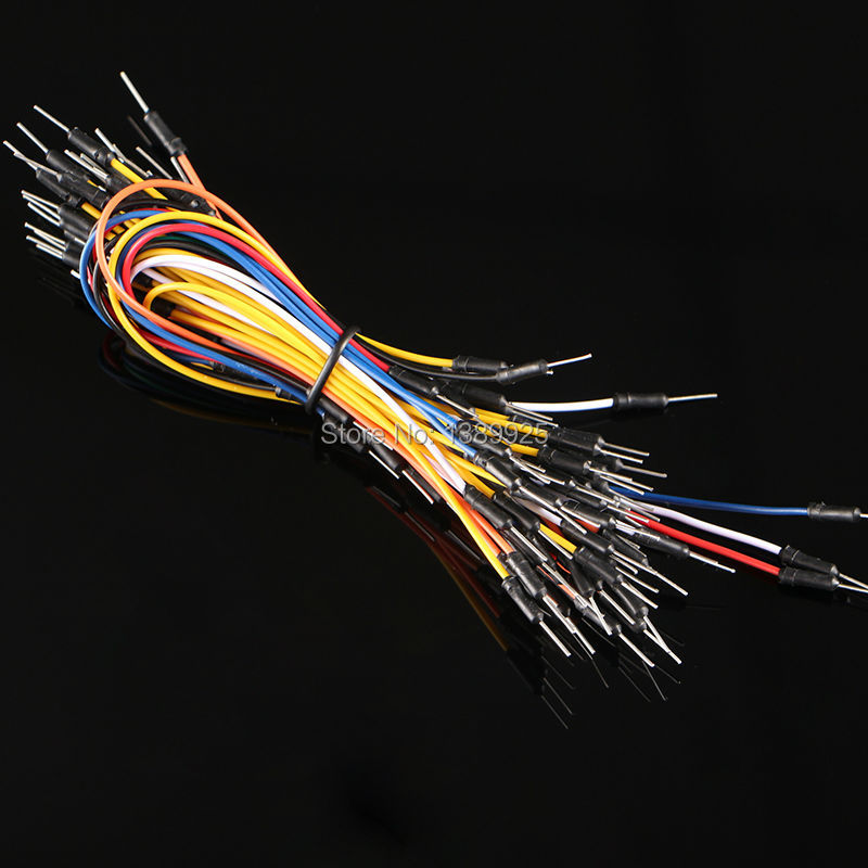 Free Shipping 650pcs Jump Wire Cable Male To Male Jumper Wire For Breadboard High Quality