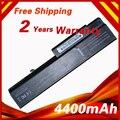 4400mah laptop battery for HP Business Notebook 6530b  6535b 6730b 6735b EliteBook 6930p  8440p 8440w  6440b  6450b 6540b 6545b