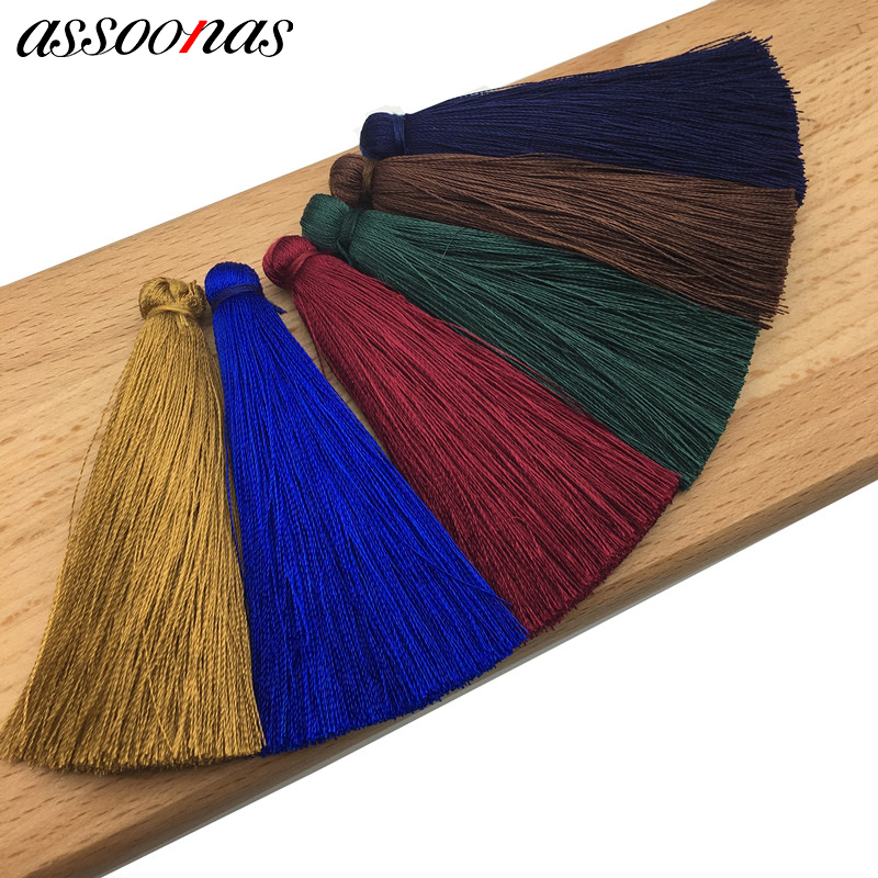 assoonas L20/jewelry findings/jewelry accessories/accessory parts/diy earrings/tassels for jewelry diy/diy jewelry/Silk tassel diy jewelry findings