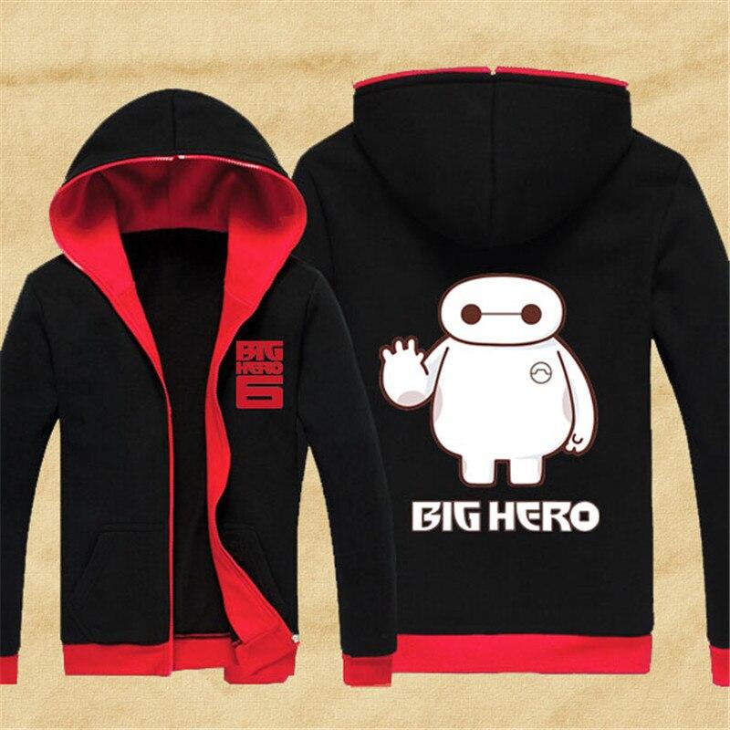 Big Hero 6 sweat à capuche Anime Baymax sweat à capuche dessin animé mignon Robot polaire manteau avec capuche fête Cosplay costume pour hommes femmes