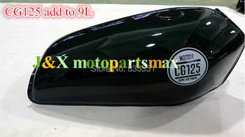 BLACK CG125 FUEL TANK add to 9 litres capacity than original tank Thickening of high quality automotive paint process