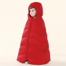 Детские плащ дети платок новорожденных девочек пуховик мальчик пальто