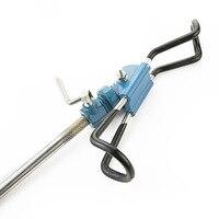 Carp Fishing 1Set Bag Rod Stand Bracket Angle Adjustable Fish Rods Holder Fish Pole Bracket Holder