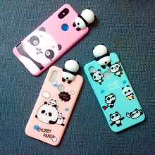 for Xiaomi Redmi Note 5 Global Version Case 3D Cute Cartoon panda brothers funny toys soft phone case Pro cover