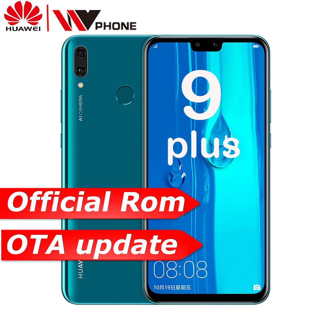 Оригинальный huawe Y9 2019 наслаждаться 9 плюс смартфон kirin 710 Octa core двойной передний и задний Камера 6,5 дюймов 4000 мАч