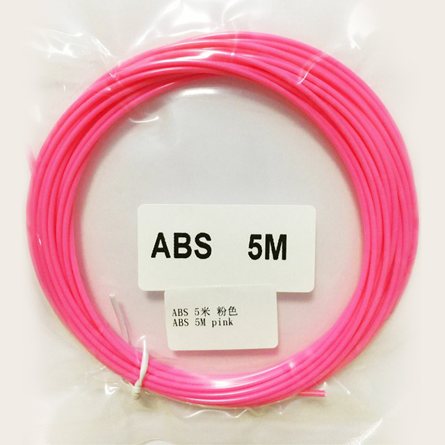 3D Pen Filament 50 Meters 10 Color Filament ABS 3D 1.75 Material 4