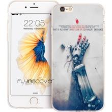 Alchemist Transparent Soft Phone Cases for iphone