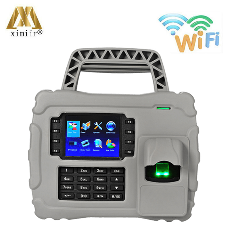 S922 Waterproof,dust Proof,shock Proof WIFI TCP/IP Fingerprint Time Attendance Optical Sensor Time Recording With Backup Battery