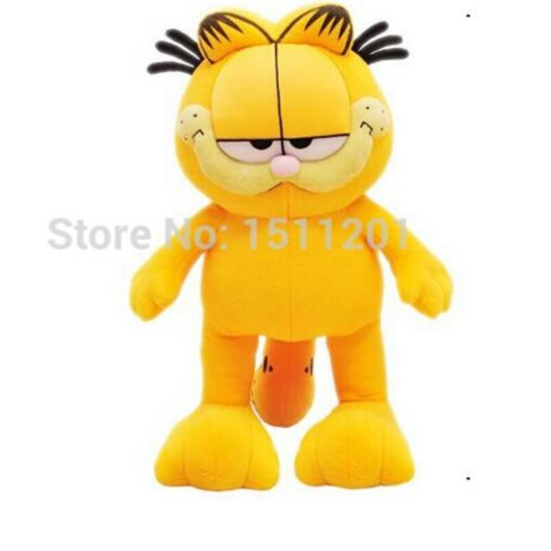 Hot Selling! 1pcs 8'' 20cm Plush Garfield Cat Plush Stuffed Toy High Quality Soft Plush Figure Doll Free Shipping hot selling oversize 1000% bearbrick luxury lady ch be rbrick medicom toy 52cm zy503