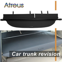 Atreus High Quality 1set Car Rear Trunk Security Shield Cargo Cover For Toyota Highlander 2015 2016 2017 2018 accessories