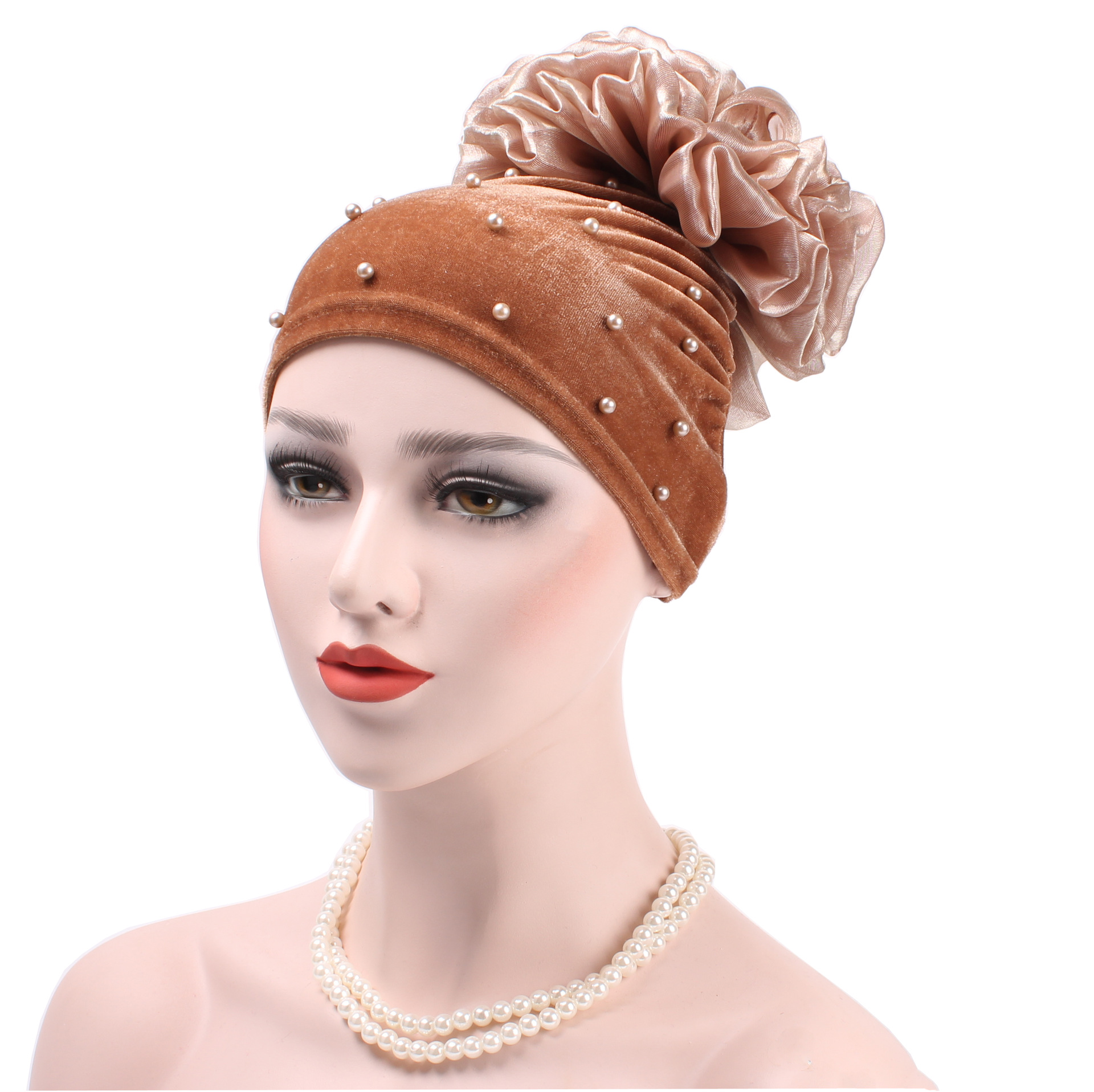 New Fashion Muslim Turban Cap Hijab Bonnet Caps Arab Soft Flower Wrap Beanie Hat Hijab Turban  Inner Hijab  New Luxury Hijab