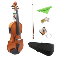 TSAI 4 Strings Solid Wood Electric Violin 4 4 Electro Acoustic Violin Electronic With Gift Box