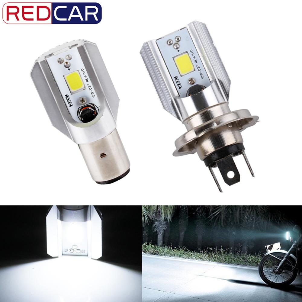 H4 H6 BA20D Led Motorcycle Headlight Bulbs COB Led 1000LM Hi Lo Lamp Fog Lights Scooter ATV Moto Accessories For Suzuki
