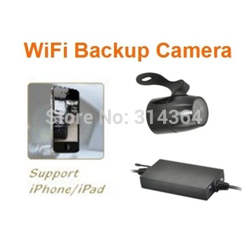Waterproof Backup Night Vision Wireless Car Camera Support Wired Connection WiFi And Mobilephone IPhone/Android For Rearview gl 8902w wifi backup camera car wireless rear view apply ios and android apps