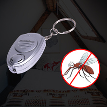 Portable Pest Mosquito Killer Mini Electric Key Chain Ultrasonic Anti Mosquito Repeller for Camping Fishing Outdoor Device
