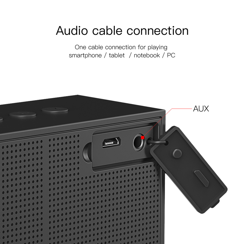 baseus e05 portable bluetooth speaker for outdoor with 15 hours super long play time