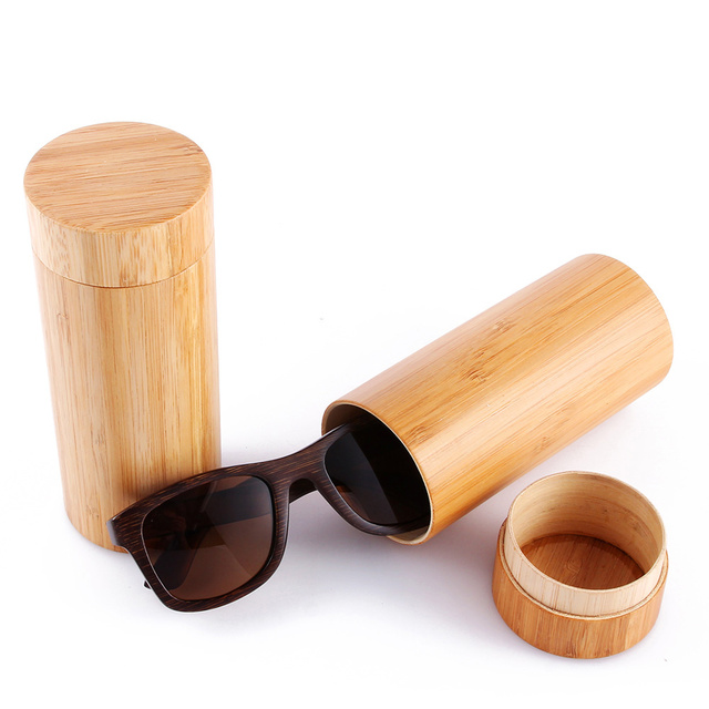 2016 New Bamboo Sunglasses Men Wooden Sun glasses Women Designer Mirror Original Wood Glasses