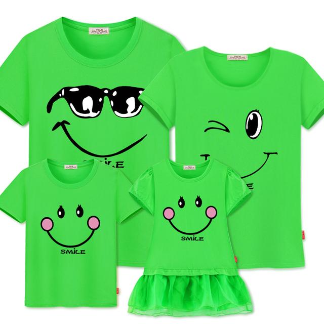 Familie matchende tøj Mor Datter Kjoler