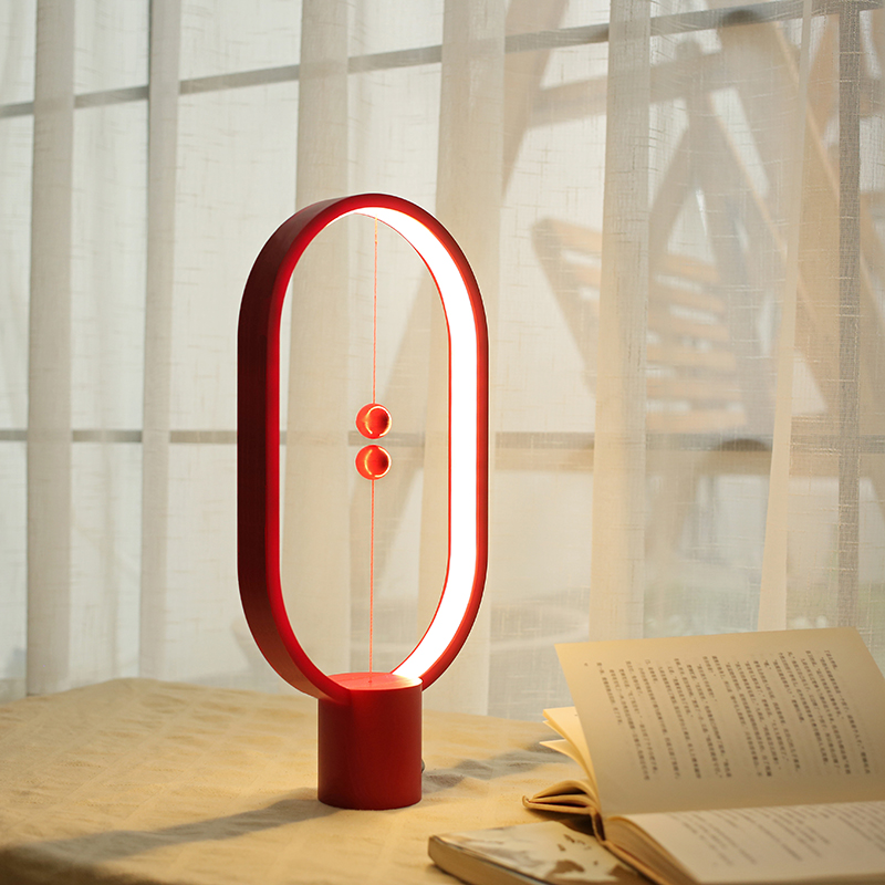 Heng Balance Table Lamps air switch LED magnetic balance lamp Home Furnishing reading Nightlight desk lamp table lights цены