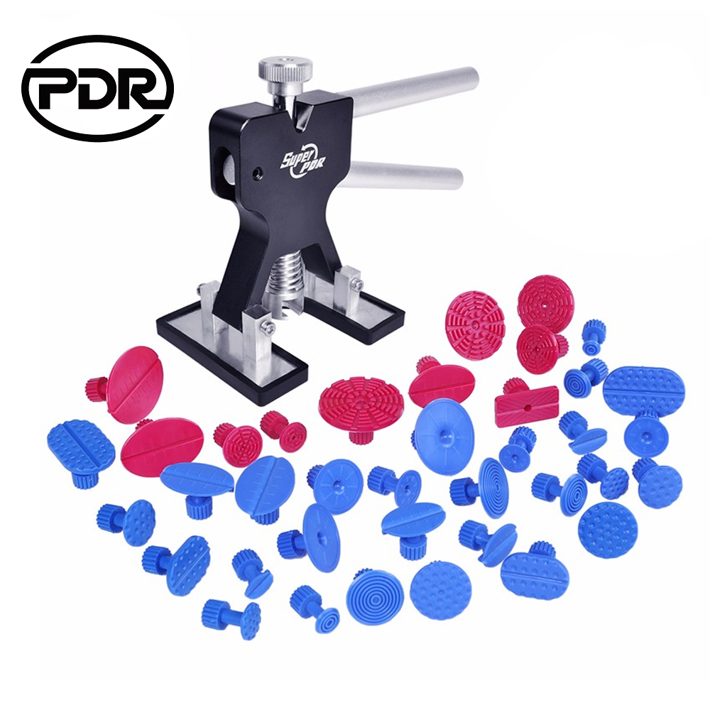 PDR Tools Dent Lifter Remover Paintless Dent Removal Auto Repair Tool Set Automobiles Repair Tools Suctions Cups For Dents pdr tools paintless dent removal car repair kit auto repair tool set slide hammer dent lifter suction cups for dents