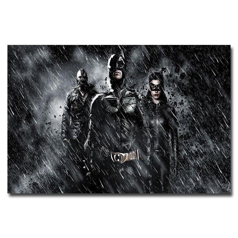 Batman The Dark Knight Rises Movie Silk Poster 13x20 24x36 inch 003