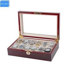 Schmuck/Zubehör/Uhr Lagerung & Display Box Fall Holz/Schloss/Fenster für Luxusmarke Uhren Shop großhandel ReliableBox Lieferant