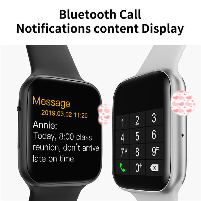 Soulusic Drop shipping W34 Bluetooth Call Smart Watch ECG Heart Rate Monitor Smartwatch Men Women for Android iPhone PK iwo 8 10