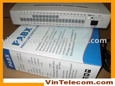 China PBX factory VinTelecom CP832 phone PABX System / PBX / SOHO PBX -small business solution image