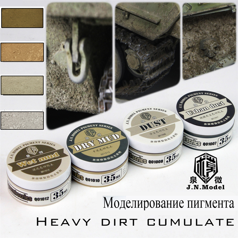 Model Modelling Pigment Heavy Dirt Cumulate Set Do Old Powder Effect Of Battle Damage Natural Soil Do Old Special Accessories