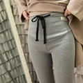 Pregnancy Leggings Knitter Cotton Maternity Autumn  Leggings 5 Solid Color Tummy Leggings High Waist Elastic Pregnant Pants