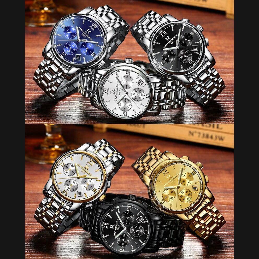 RONTHEEDGE Horloge Heren Horloges Topmerk Luxe Beroemde Polshorloge - Herenhorloges - Foto 2