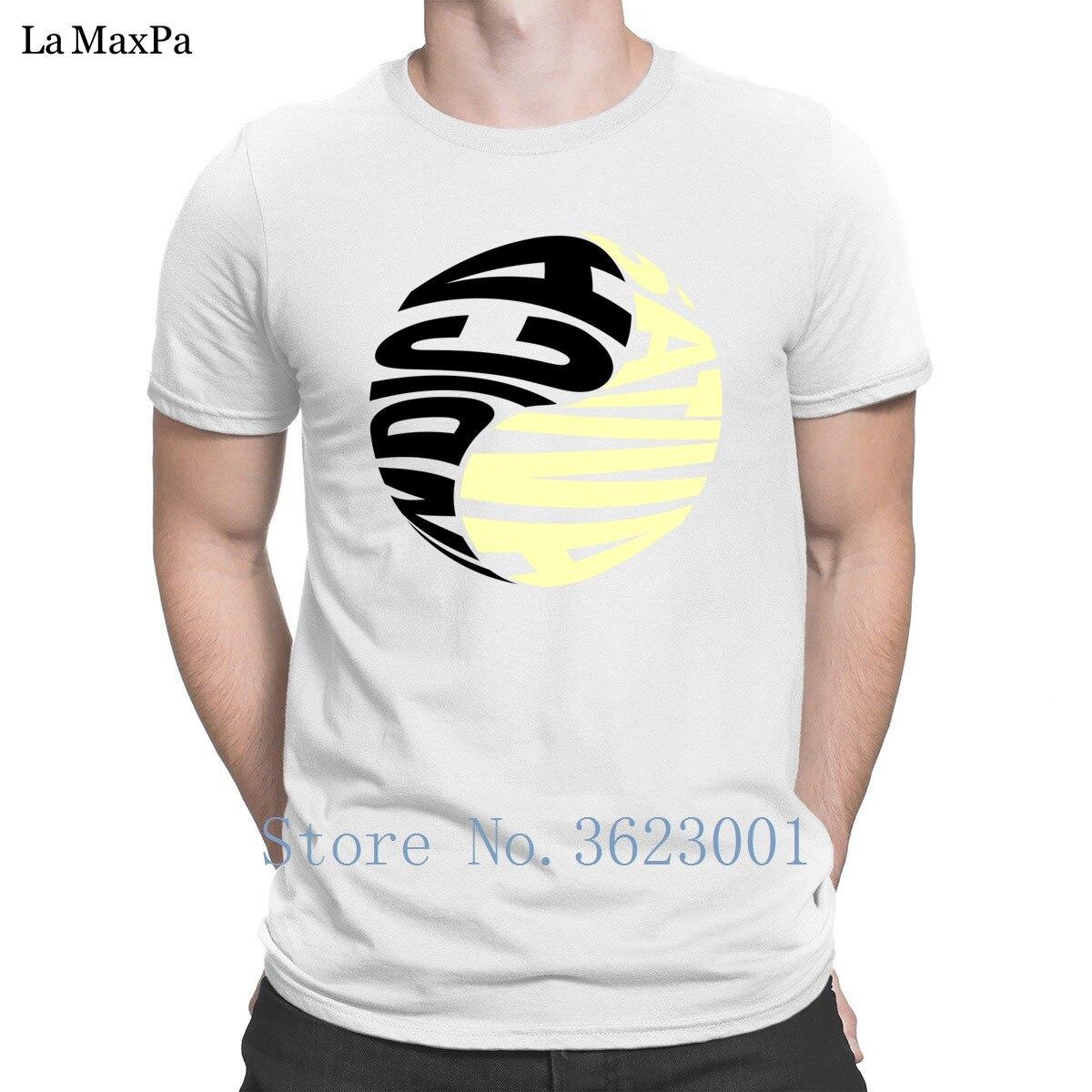 Personalidade T-Shirt Básica Indica Sativa Ying E Yang Tee Camiseta Tops Tamanho Euro T Camisa Masculina Camisa Dos Homens T Marca Fotos