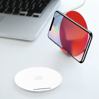 USAMS Qi Wireless Charger 2 In 1 Phone Holder Charger Mobile Phone Charger Universal Phone Holder