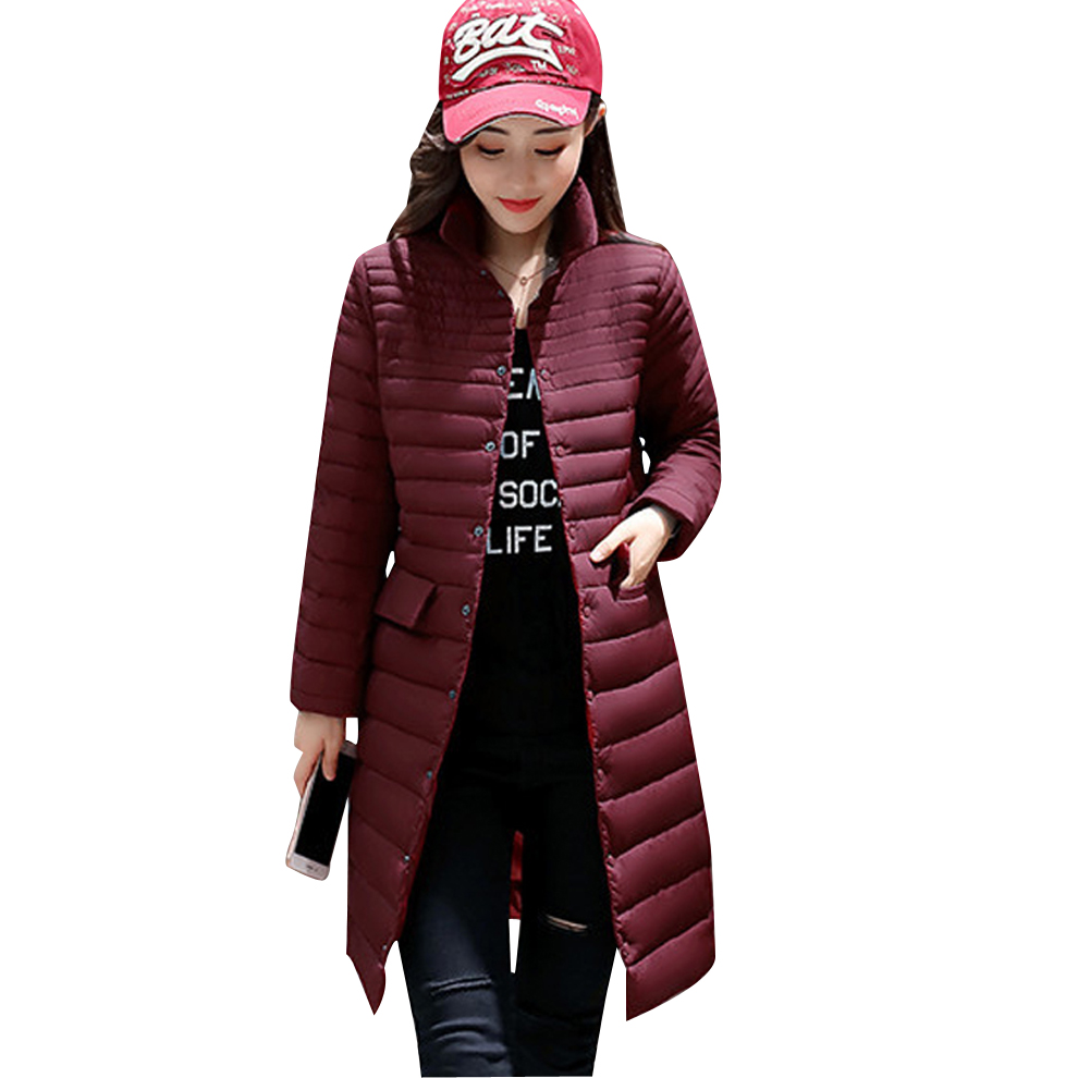 40d43825aba BOoDinerinle Plus Size ultra light down jacket Women Winter New fashion  Slim thin down jacket white duck down lapel design YR021-in Down Coats from  Women s ...