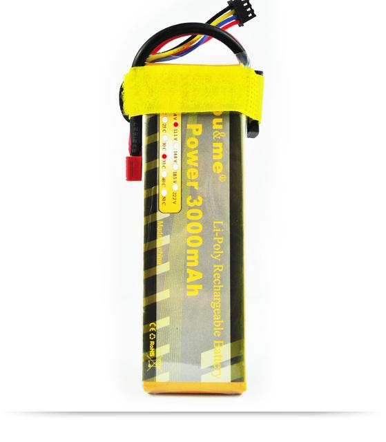 You & me Grado A de la célula 3000 mAh 3 S 11.1 V 35C max 70C lipo acumuladores de baterías para rc helicópteros quadcopter