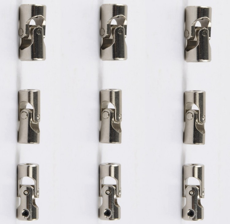 1pcs 4*4mm/5*4mm/4*3mm/5*5mm/4*3.17mm/6*6mm Metal Universal Joint For RC Cars Boats DIY toy accessories cardan joint P3 4 4 5