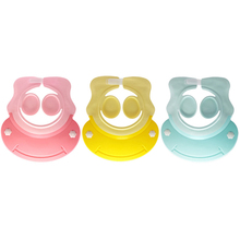 Baby Adjustable Shampoo Cap Hat Waterproof Ear Protector Toddler Kids Silicone Bath Shower shampoo artifact