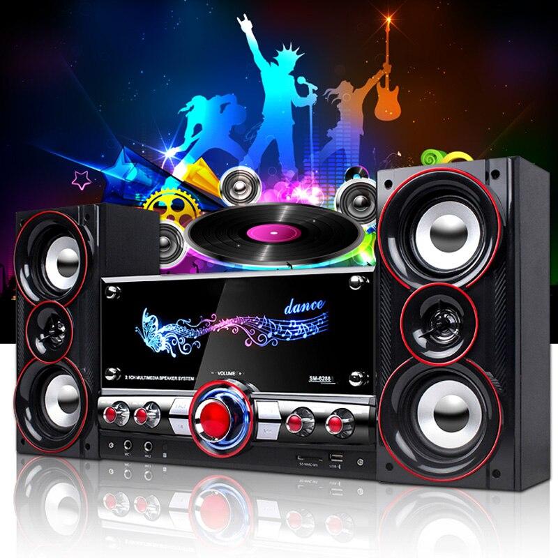 KINCO 3D Surround Sound Music Center Système Accueil Parti Sans Fil HIFI Système Karaoké Bluetooth Dispositifs pour Vous Détendre